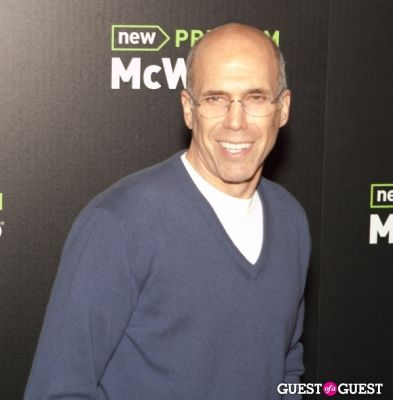 jeffrey katzenberg in McDonald's Premium McWrap Launch With John Martin and Tyga Performance