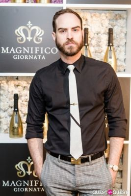 jeffrey tonnesen in Magnifico Giornata's Infused Essence Collection Launch