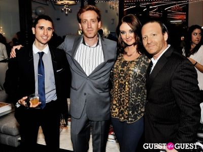 adam glassman in Luxury Listings NYC launch party at Tui Lifestyle Showroom