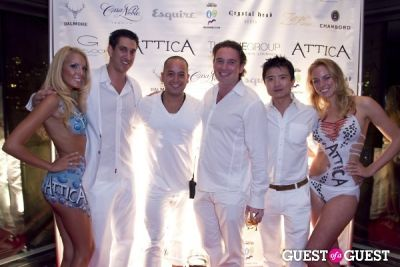 alex chen in Attica 2nd Anniversary -- White Party