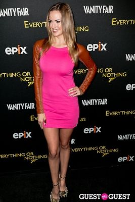jena sims in EPIX & Vanity Fair Present: Documentary, 50 Years of James Bond