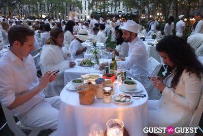 devin toth in Diner en Blanc NYC 2013