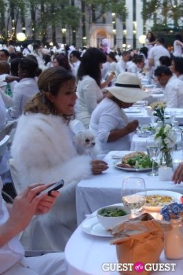 jeni cruz in Diner en Blanc NYC 2013
