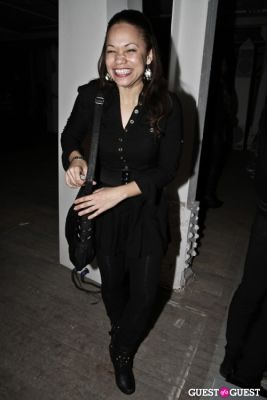 jenine waites in Andrew Buckler FW10 After Party