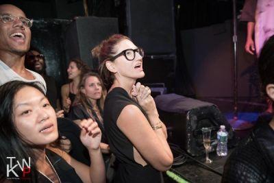 jenna lyons in DKNY Celebration Party NYFW