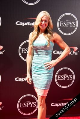 jennie finch in The 2014 ESPYS at the Nokia Theatre L.A. LIVE - Red Carpet