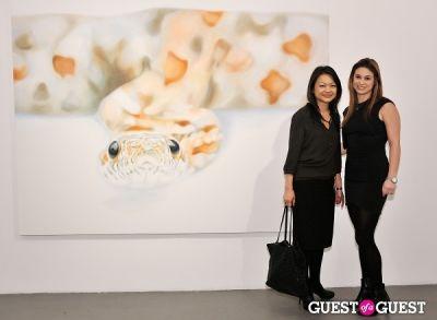 elizabeth hirsch in Pia Dehne - Vanishing Act Exhibition Opening