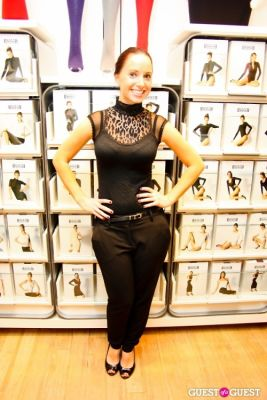 jennifer caplins in Wolford's Shapewear is as Fabulous as Their Legwear Event