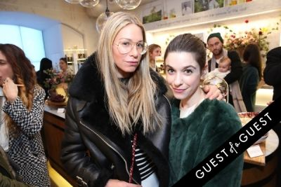 katie ermilio in Caudalie Premier Cru Evening with EyeSwoon