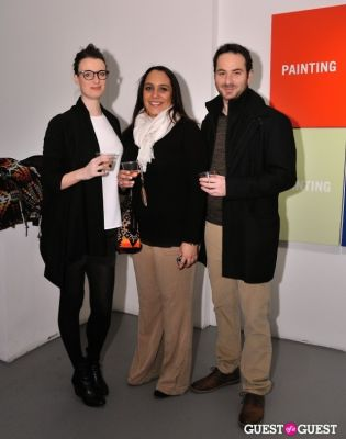 jennifer hamblett in Retrospect exhibition opening at Charles Bank Gallery