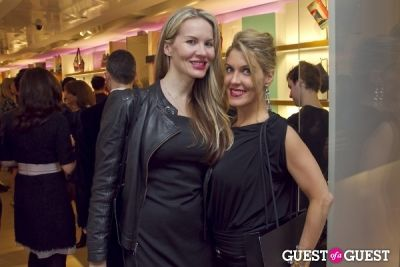 beth lancaster in Longchamp/LOVE Magazine event