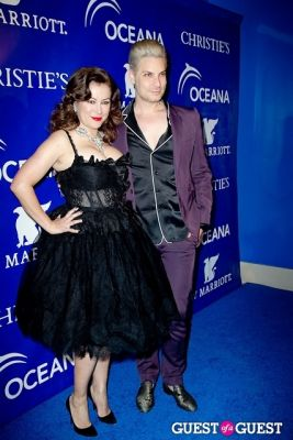 cameron silver in Oceana's Inaugural Ball at Christie's