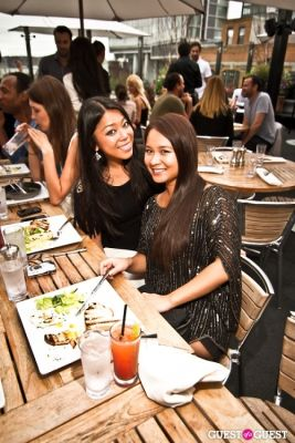 jennifer yuen in Sunset Brunch Club at STK Rooftop