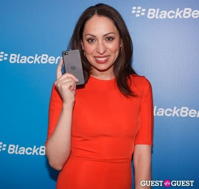 jenny leeser in BlackBerry Z10 Launch
