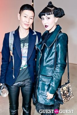 jenny shimizu in 12th Annual RxArt Party