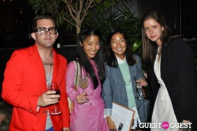 donna kang in Samurai Love Sake and Tsubo Celebrate Timo Weiland Spring Collection
