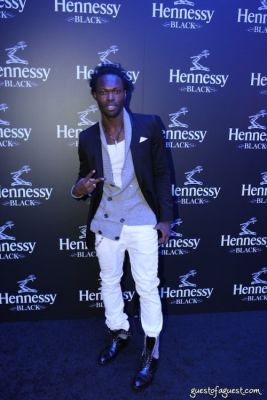 jermaine browne in Hennessy Black Launch Party