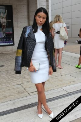 jess gong in NYFW Style From the Tents: Street Style Day 4
