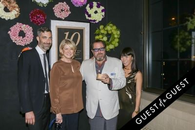 julian schnabel in EN Japanese Brasserie 10th Anniversary Celebration