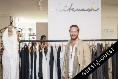 jesse elliot in Hamptons Collective White Party