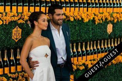 cara santana in The Sixth Annual Veuve Clicquot Polo Classic Red Carpet