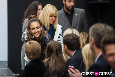 jessica alba in The Front Row Runway Show