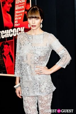 jessica biel in HITCHCOCK The New York Premiere