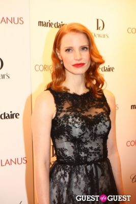 jessica chastain in FIT Gala