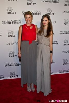 alecta hill in NYC Ballet Opening