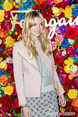 jessica hart in Ferragamo Celebrates The Launch of L'Icona