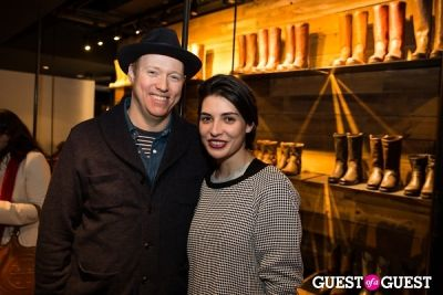 jessica lancaster in Frye Pop-Up Gallery with Worn Creative