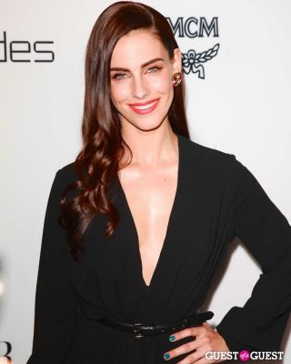 "jessica lowndes in Harper's Bazaar to Celebrate Cameron Silver & Christos Garkinos of Decades and Bravo's ""Dukes of Melrose"""