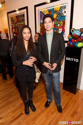 jessica rose-james in Bermano Art Exhibition Hosted By NY Jet Ladainian Tomlinson