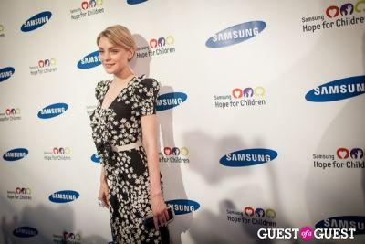jessica stam in Samsung Hope For Children Gala 2013