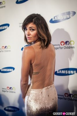 jessica szohr in Samsung Hope For Children Gala 2013