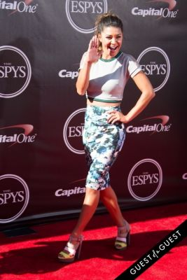 jessica szohr in The 2014 ESPYS at the Nokia Theatre L.A. LIVE - Red Carpet
