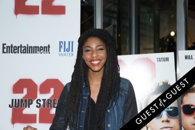 jessica williams in 22 Jump Street Premiere