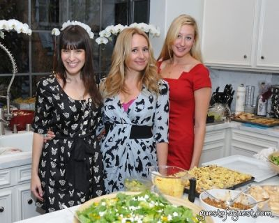 jessie litow in The Supper Club LA's Bachelor Kitchen Party