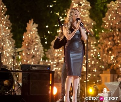 jewel in The Grove's 11th Annual Christmas Tree Lighting Spectacular Presented by Citi
