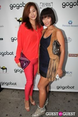 ji yeon-oh in Gogobot's A Taste of St. Tropez + Nuit Blanche at Beaumarchais