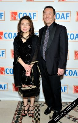 han choi in COAF 12th Annual Holiday Gala