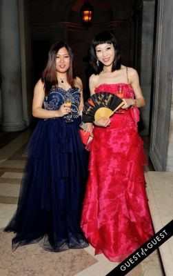 lily feng in The Frick Collection Young Fellows Ball 2015