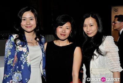 jie xiu--l- in Outstanding 50 Asian Americans in Business 2013 Gala Dinner