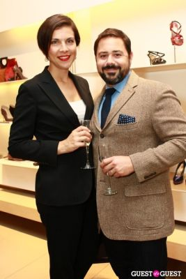 jill billante in Salvatore Ferragamo & W Magazine Benefit