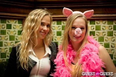 jill devareckas in Mara Hoffman & Pamela Love celebrate Halloween
