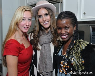 louise roe in The Supper Club LA's Bachelor Kitchen Party
