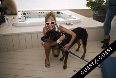 jill laflin in Puppies & Parties Presents Malibu Beach Puppy Party