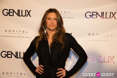 jill wagner in Genlux Magazine Winter Release Party with Kristin Chenoweth