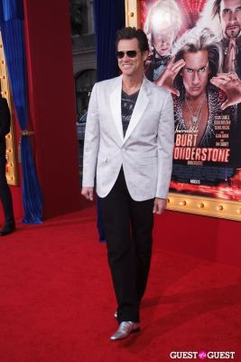 jim carrey in World Premiere of The Incredible Burt Wonderstone