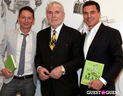 andre balazs in How To Be A Man Book Launch